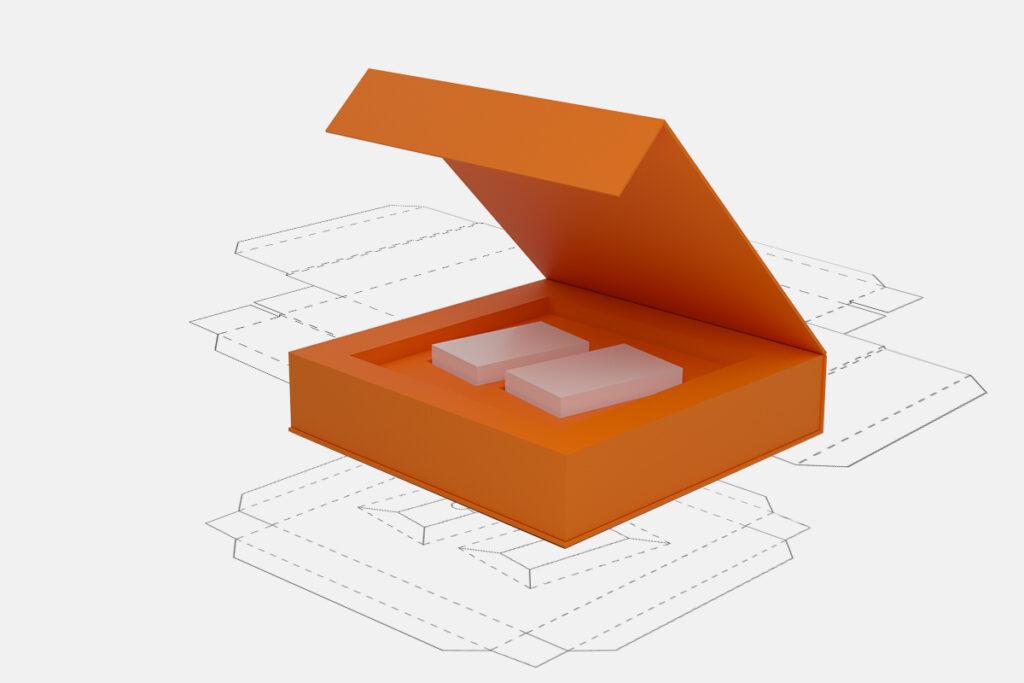 Makieta pudełka stworzonego przez Accurate